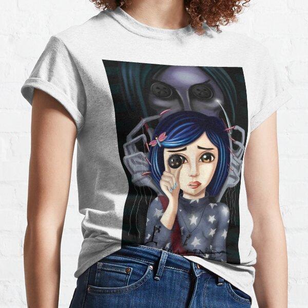 Coraline y la puerta secreta Camiseta clásica