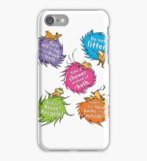 Unless The Lorax Dr Seuss iPhone Case/Skin