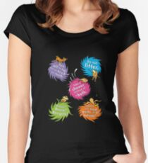 Unless The Lorax Dr Seuss Women's Fitted Scoop T-Shirt