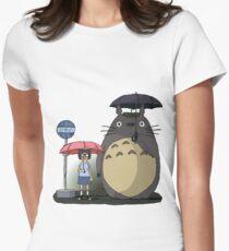 Tonari No Tina Womens Fitted T-Shirt