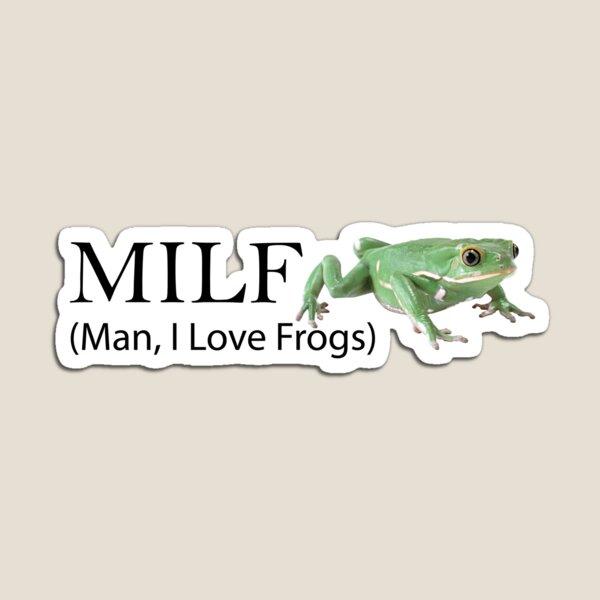 Man, I Love Frogs Magnet