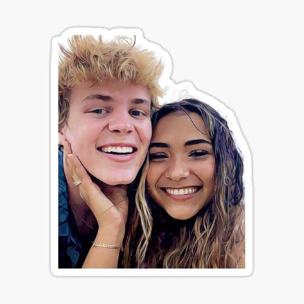 Sienna & Jack  Sticker