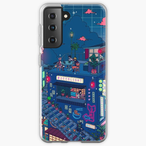 Neon Village Samsung Galaxy Soft Case