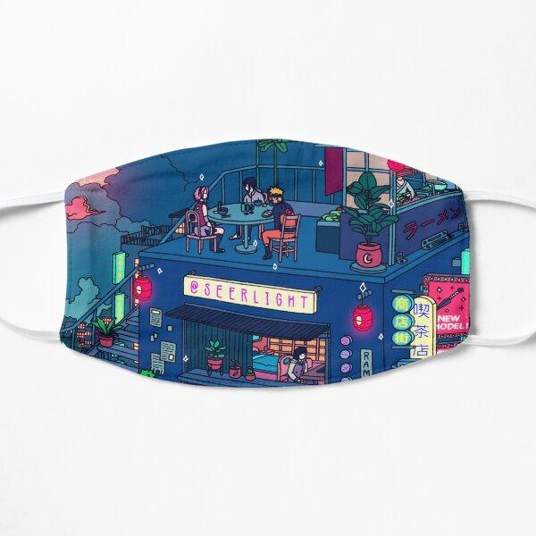 Neon Village Flat Mask