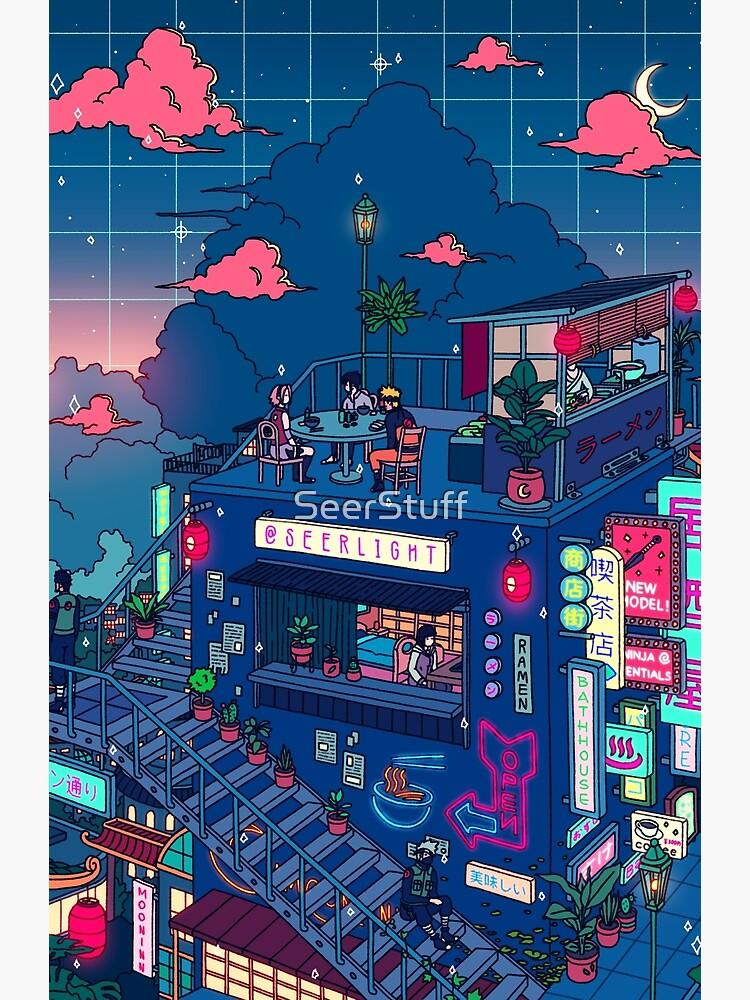 Neon Village by SeerStuff