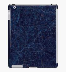 USGS TOPO Map Connecticut CT Gilead 331025 1892 62500 Inverted iPad Case/Skin