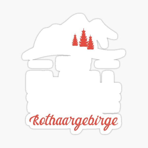 Rothaargebirge Eifel hiking sex gift idea Sticker
