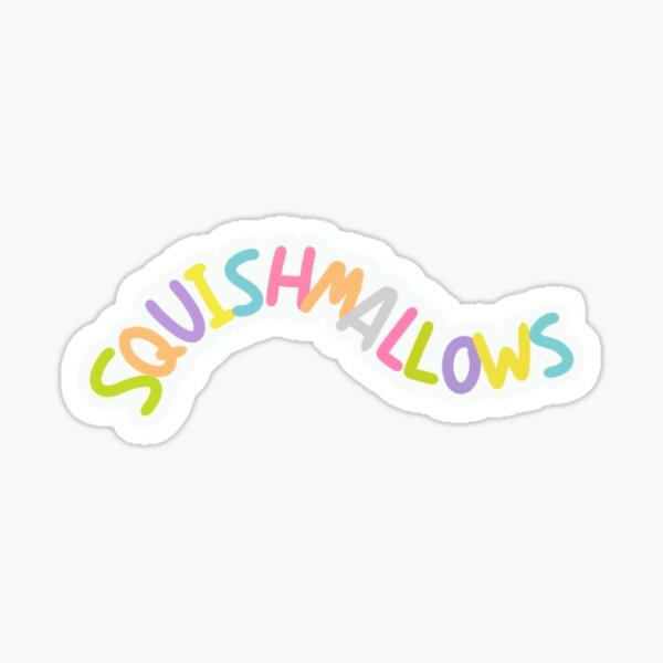 Squishmallows Logo Design Sticker