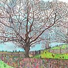 TREES IMPRESSIONIST CARTOON by doatley