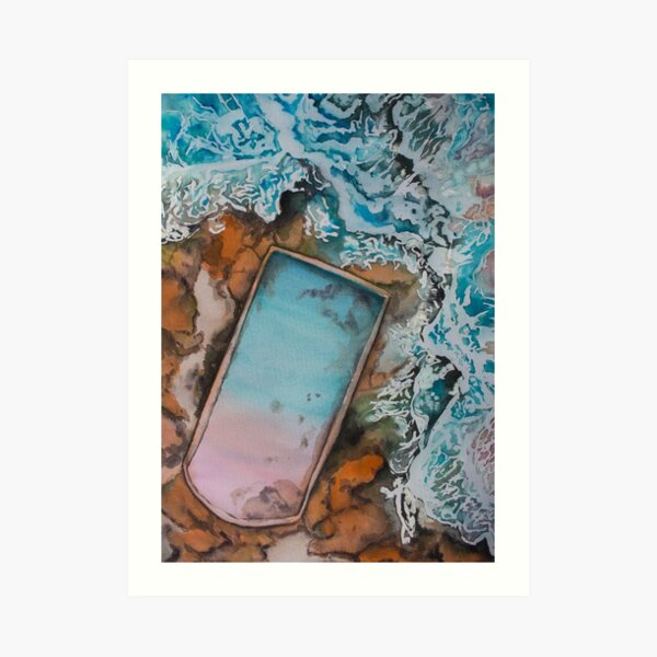 Cronulla Sea Baths Art Print