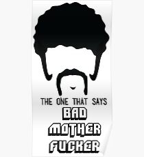 Pulp Fiction - Bad Mother Fucker Poster