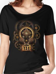 Infernal Steampunk Vintage Machine #2B Women's Relaxed Fit T-Shirt
