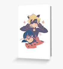Miraculous Victory! Greeting Card