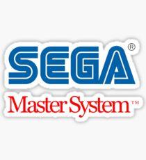 Sega Master System Logo Sticker