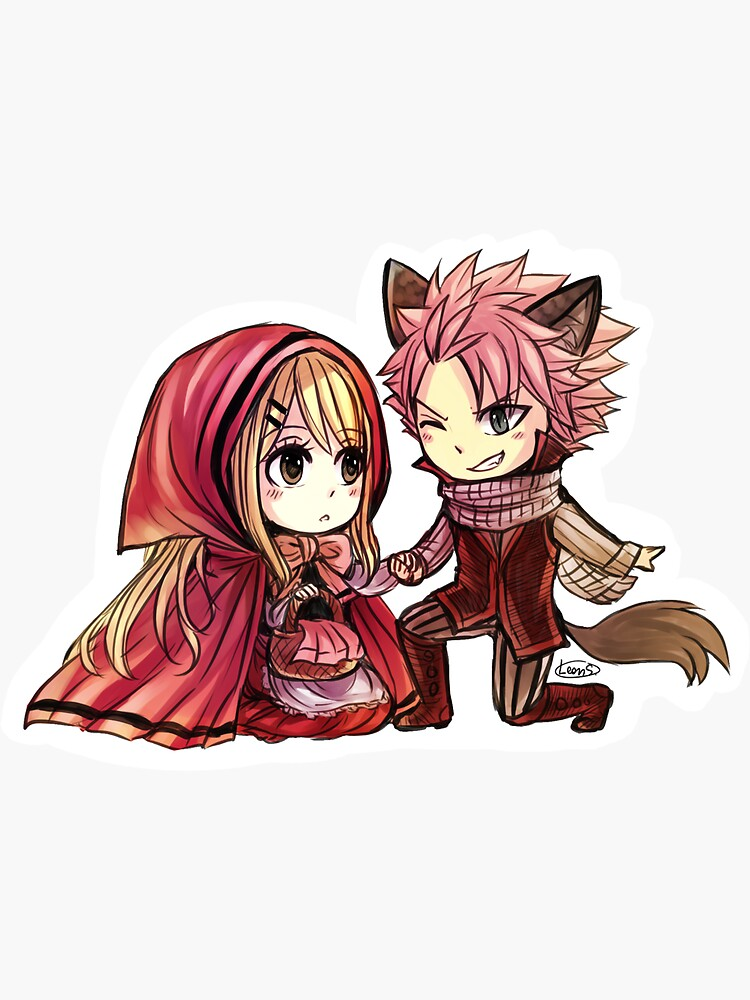 NaLu - Little Red Riding Hood by leons-7