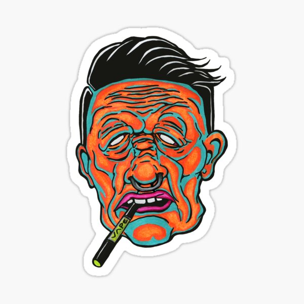 Johnny Vapor Sticker