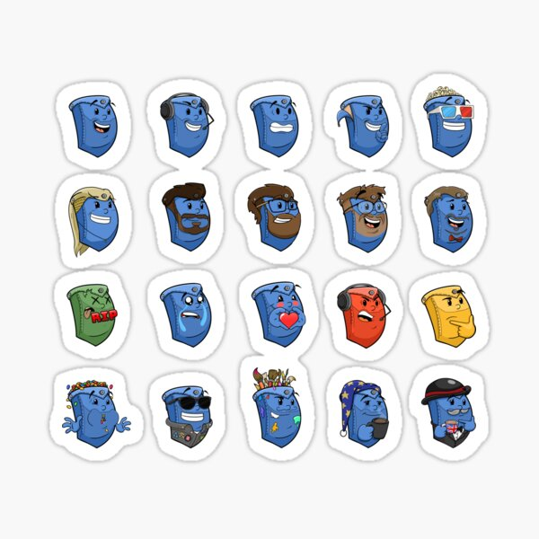 The Pockety Collection Sticker