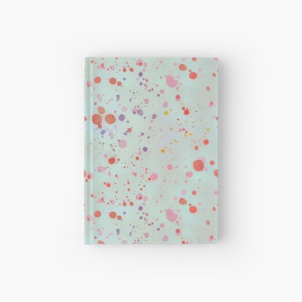 Mint Splatter Hardcover Journal