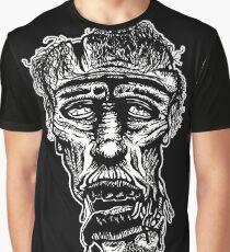 Slack-Jaw Zombie Graphic T-Shirt