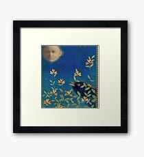 Night Garden Framed Print