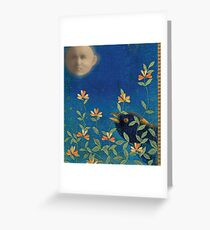 Night Garden Greeting Card