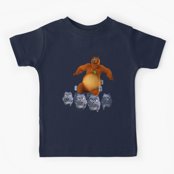 Grizzy and lemmings funny  angry the lemmings Kids T-Shirt