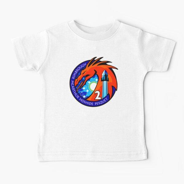 Équipage NASA SpaceX 2 Falcon 9 T-shirt bébé