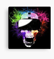 Virtual Joy Canvas Print