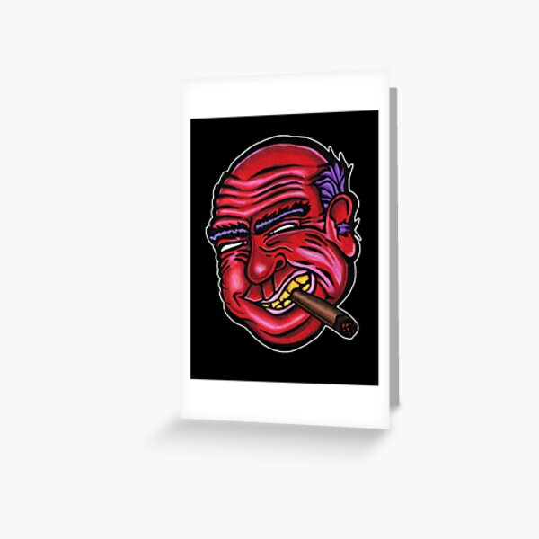 Frank - Die Cut Version Greeting Card