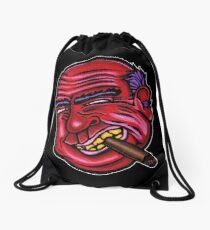 Frank - Die Cut Version Drawstring Bag