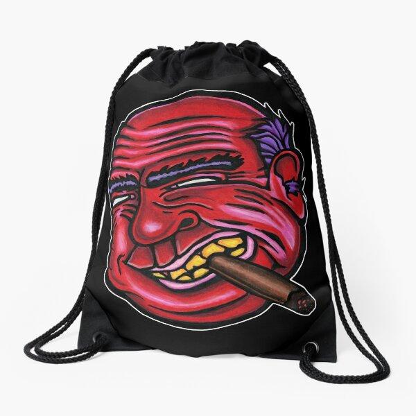 Frank - Die Cut Version Drawstring Bag