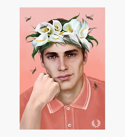 Flower King Photographic Print