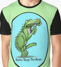 Gator Sings The Blues   Graphic T-Shirt