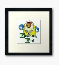 Breaking Bard Framed Print