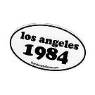 BRANDY MELVILLE LOS ANGELES 1984 STICKER by selinuenal13