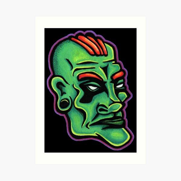 Dwayne - Die Cut Version Art Print