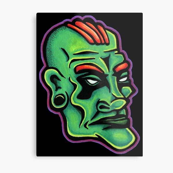 Dwayne - Die Cut Version Metal Print