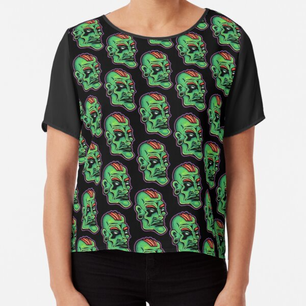 Dwayne - Die Cut Version Chiffon Top