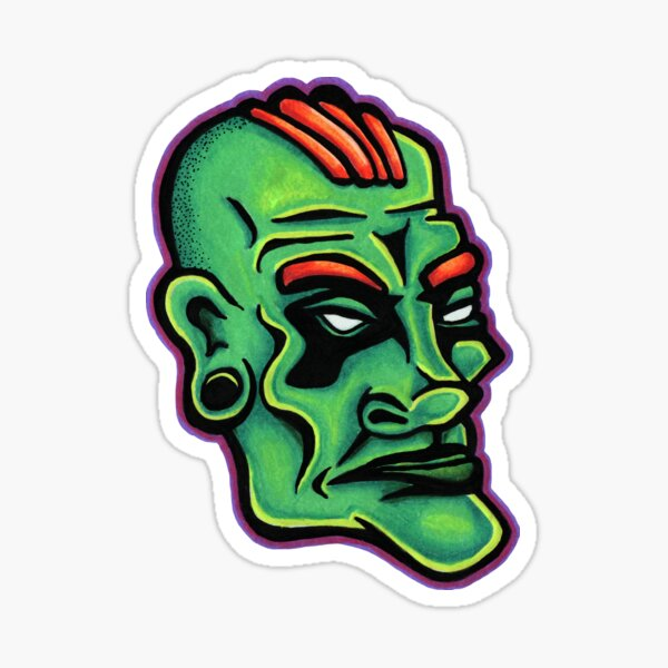 Dwayne - Die Cut Version Sticker