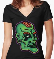 Dwayne - Die Cut Version Women's Fitted V-Neck T-Shirt
