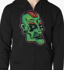 Dwayne - Die Cut Version Zipped Hoodie