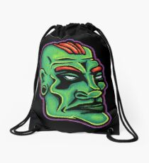 Dwayne - Die Cut Version Drawstring Bag