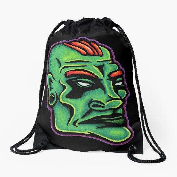 Dwayne - Die Cut Version Drawstring Bag