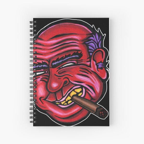 Frank - Die Cut Version Spiral Notebook