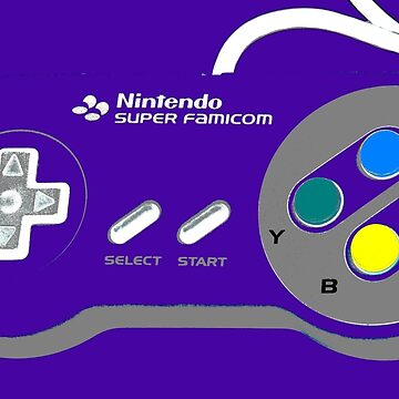 SNES Controller by Carpaccio