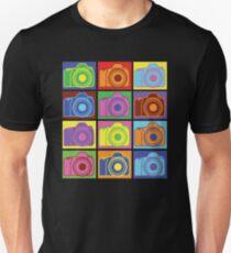 Warhol Cameras Unisex T-Shirt