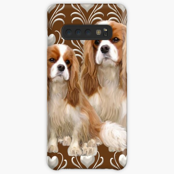 Beautiful Cavalier Spaniel Mother and Puppy Samsung Galaxy Snap Case
