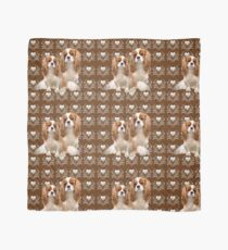 Beautiful Cavalier Spaniel Mother and Puppy Scarf
