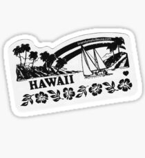BRANDY MELVILLE HAWAII STICKER Sticker