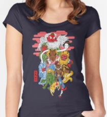 Monster Parade Women's Fitted Scoop T-Shirt